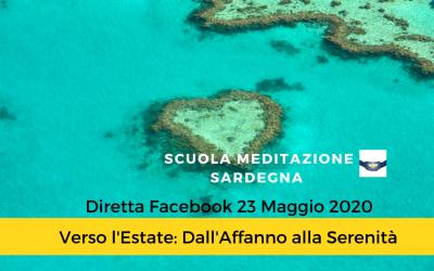 """7° Diretta Facebook 23 Maggio 2020 """"Dimorare nella Quiete-Verso l'Estate dall'Affanno alla Serenità"""" 1° Parte"""