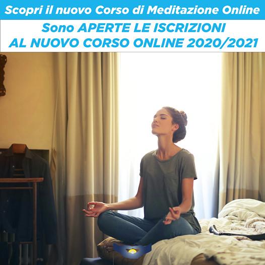 """NUOVO CORSO ONLINE 2020/21 """"Dimorare nella quiete – La Pratica della Meditazione"""""""