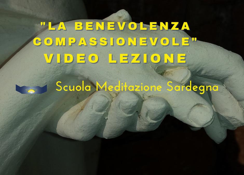 """VIdeo lezione: Meditazione su """"Come sviluppare la Benevolenza Compassionevole"""""""